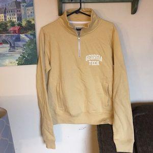 Redshirt Women's jr sz L sweatshirt Georgia Tech